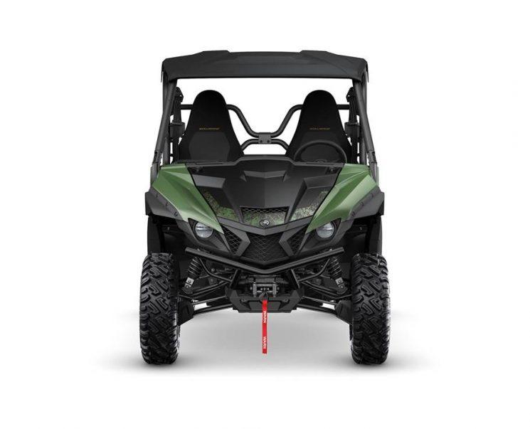 Yamaha WOLVERINE X2 R-SPEC SE À DAE VERT SECRET 2021 - Image