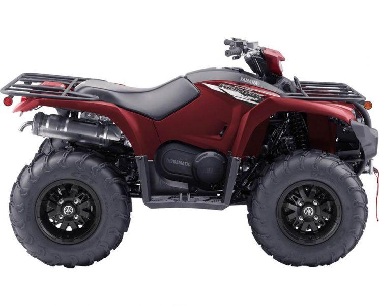 Yamaha KODIAK 450 EPS SE ROUGE CRÊTE 2021 - Image