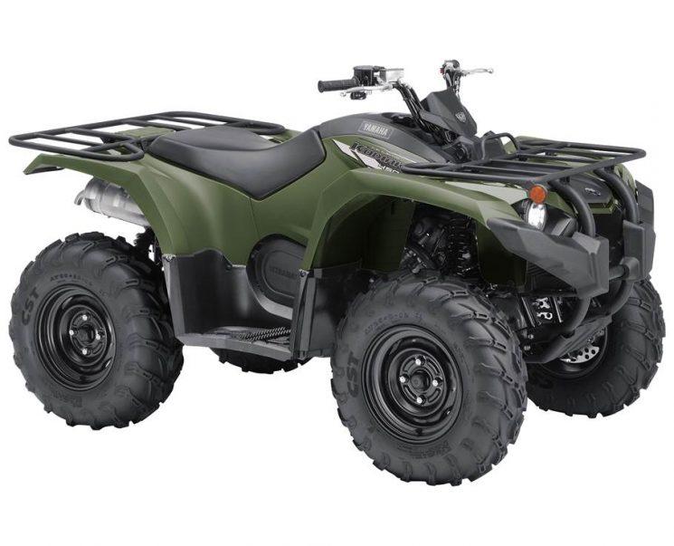 Yamaha KODIAK 450 VERT TACTIQUE 2021 - Image
