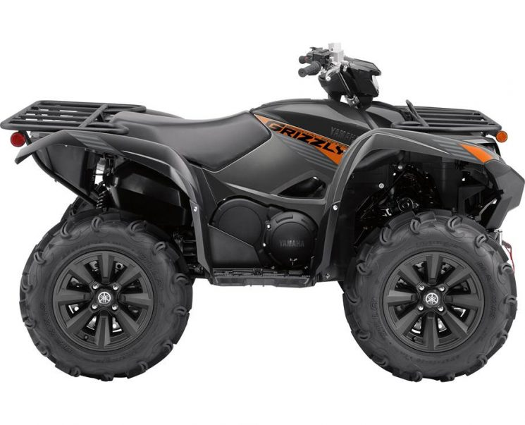 Yamaha GRIZZLY EPS SE NOIR TACTIQUE 2021 - Image