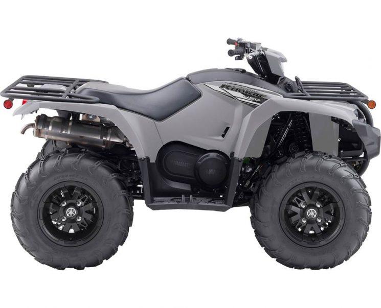 Yamaha KODIAK 450 EPS SE GRIS BLINDÉ 2021 - Image